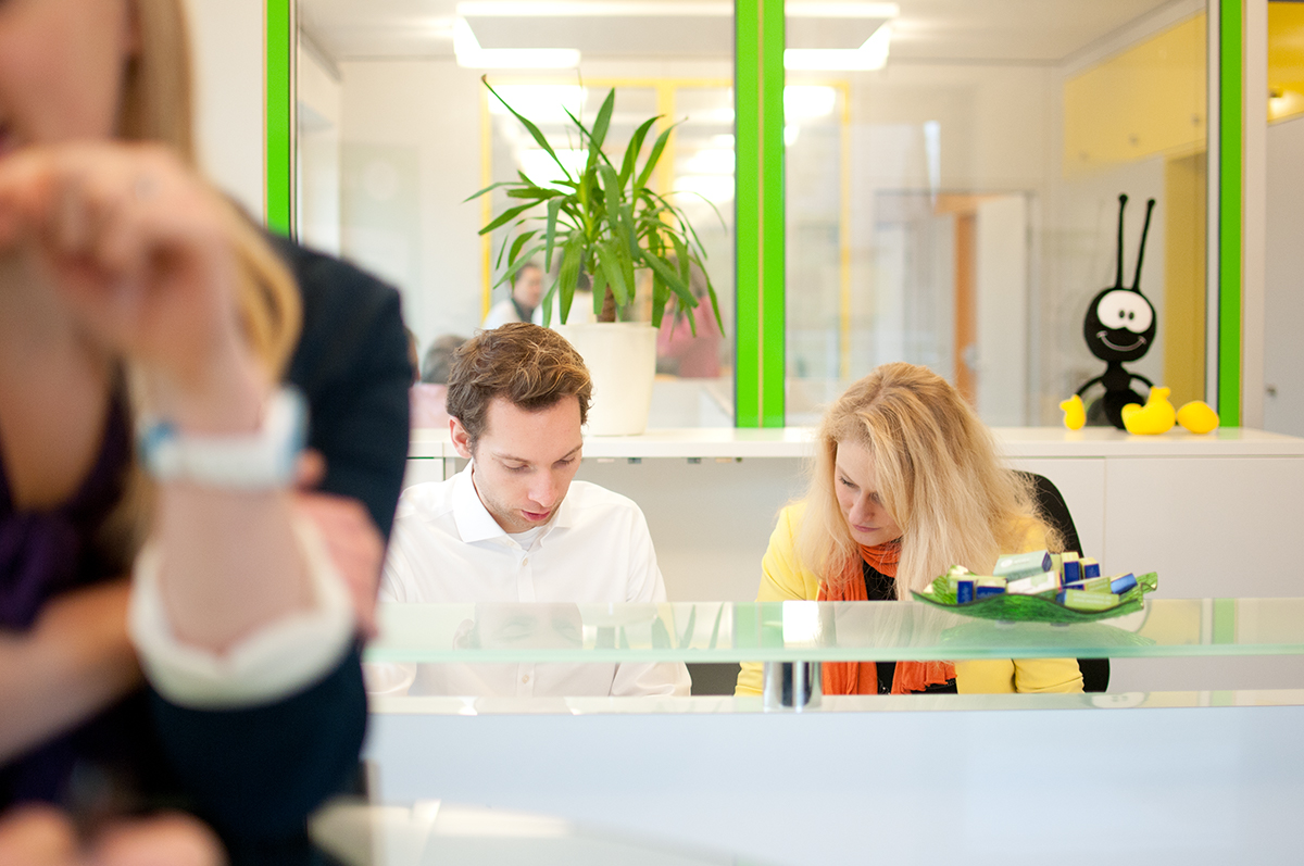 Work Inn Coworking Space Dortmund Empfang
