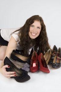 Der Wunsch, schöne Schuhe auch in Größe 43/44 zu finden, hat schon immer eine große Rolle in Sarahs Leben gespielt (Foto: Schuhe Grossartig).