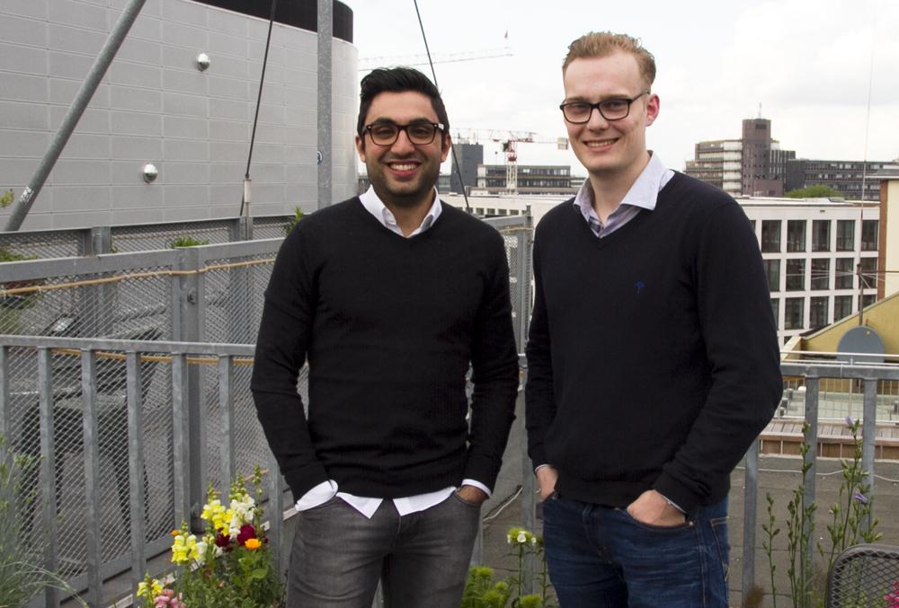 Brickspaces Gründer Giannis und Philip