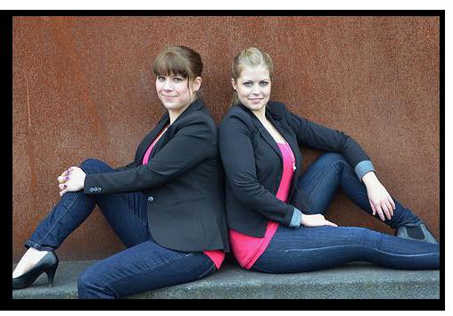 Priamo Gründerinnen Bianca Richter und Carina Huvers