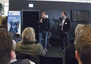 Daniel Krahn (l.) und Daniel Marx von Urlaubsguru. (Foto: Carmen Radeck)