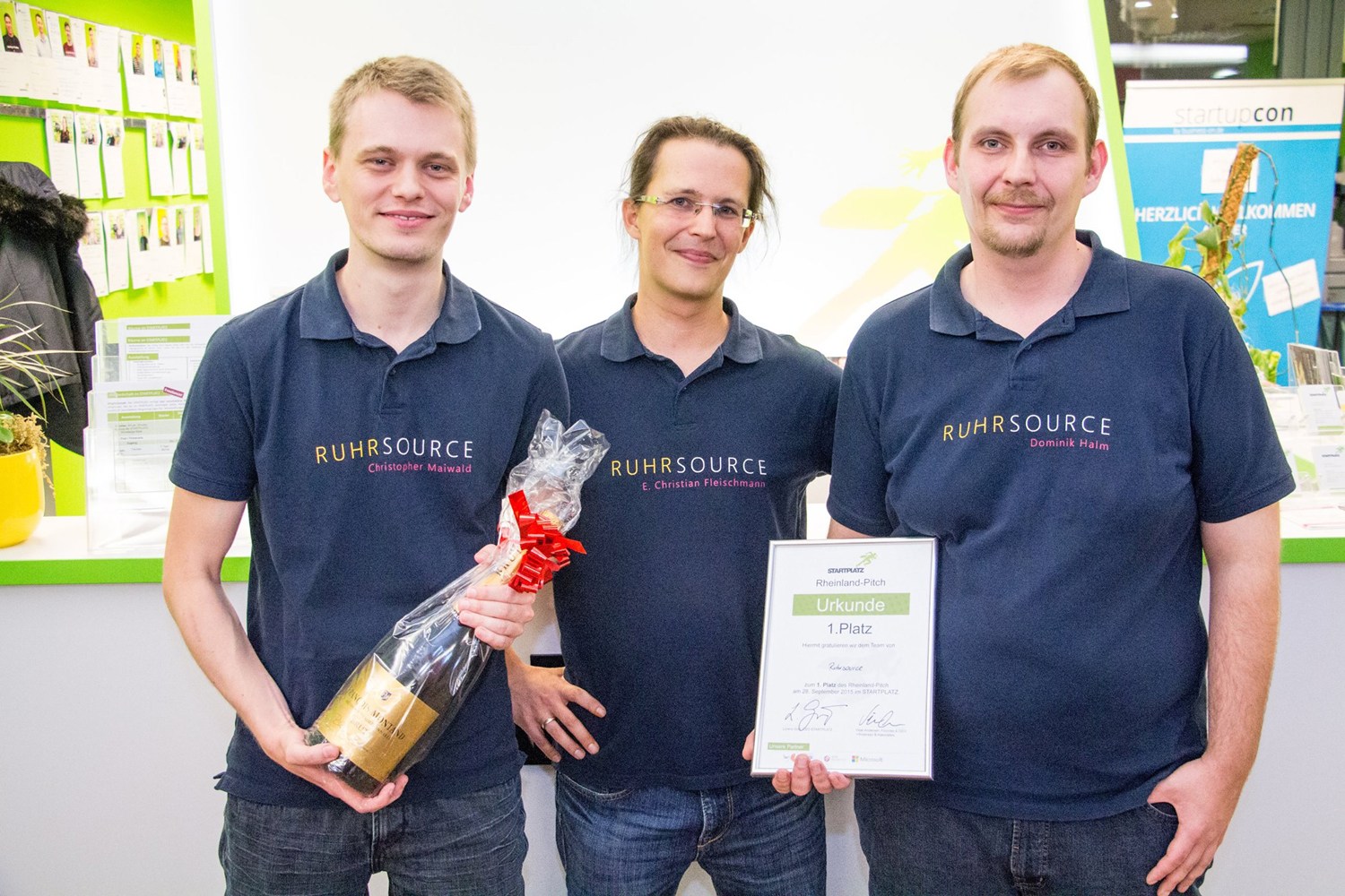 Ruhrsource Rheinland Pitch
