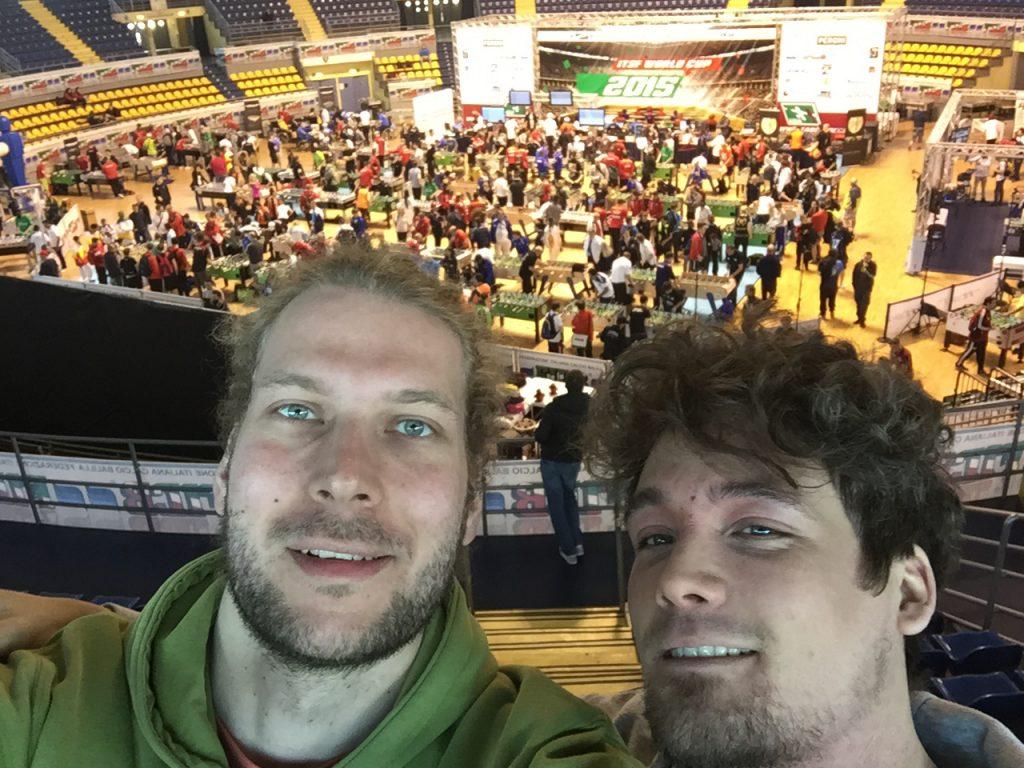 Jens Uhlemann und Michael Paffrath von Tablesoccer.TV