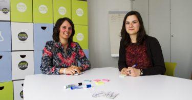 Daheim Gründerinnen Madita Best und Sarah Schanz