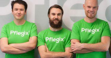 Das Gründerteam von Pflegix