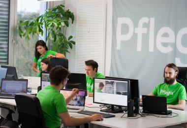 Im Büro von Pflegix wird die Plattform weiterentwickelt. (Foto: Pflegix)