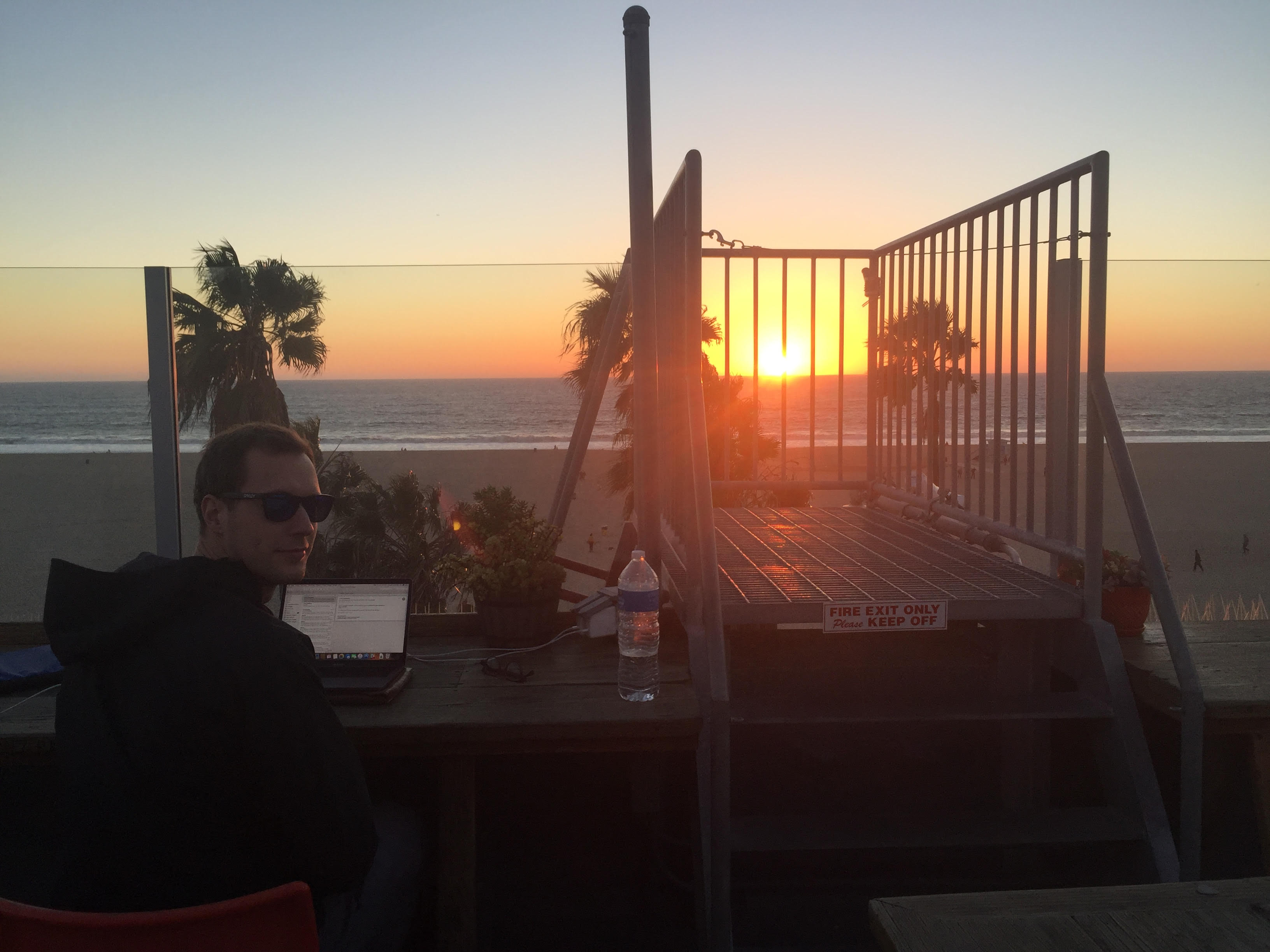 NRW-Startup SPAtacular: Co-Founder Benjamin Spinola in LA.
