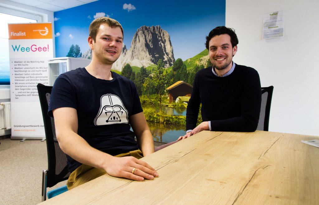 WeeGee-Gründer entwickeln ihre Startup Ideen neben ihrem Agenturgeschäft