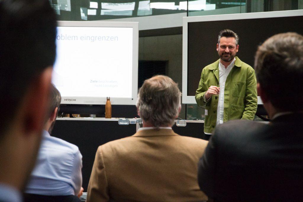 Google's Chief Innovation Evangelist Frederik G. Pferdt an der Uni Duisburg-Essen