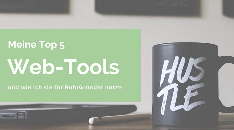 RuhrGründer Top 5 Web-Tools
