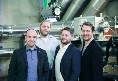 Das Team von Turbonik hat eine Mikro-Dampfturbine entwickelt.