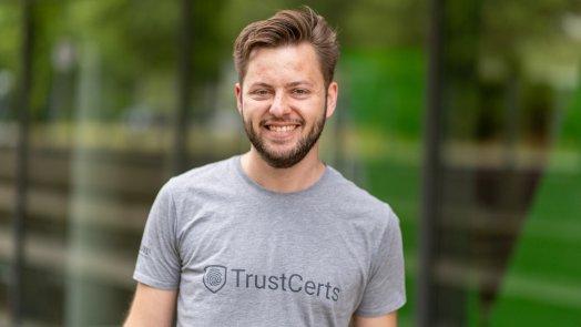 TrustCerts-Gründer Mirko Mollik